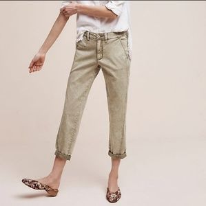 Chino by Anthropologie Relaxed Cropped Pants